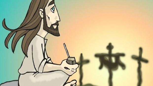 jesus mateando
